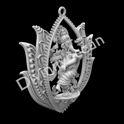 Dancing Ganesha Theme Wall Hanging