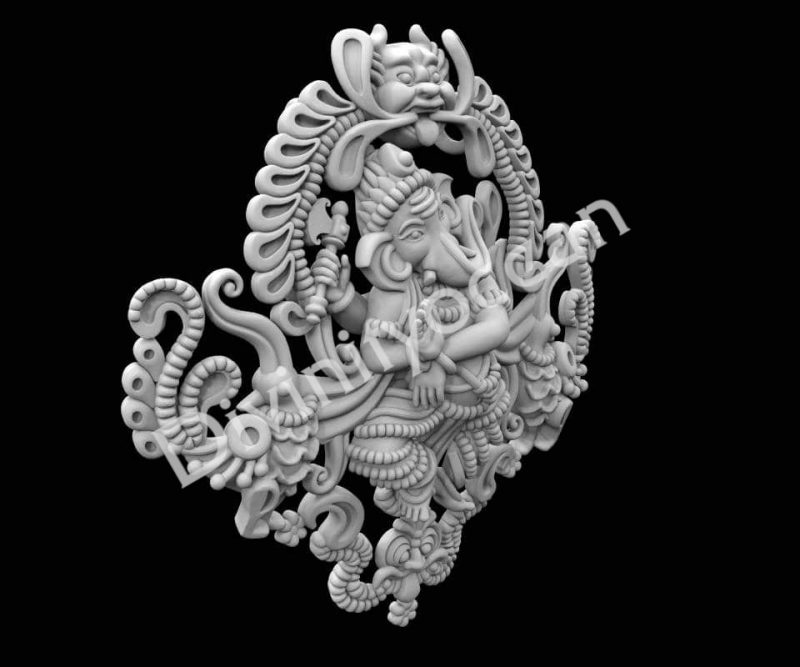 Ganesha Dancing Theme Wall Hanging