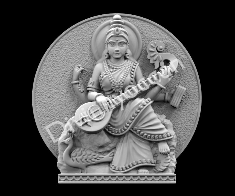 Saraswati Sitting Table Decor